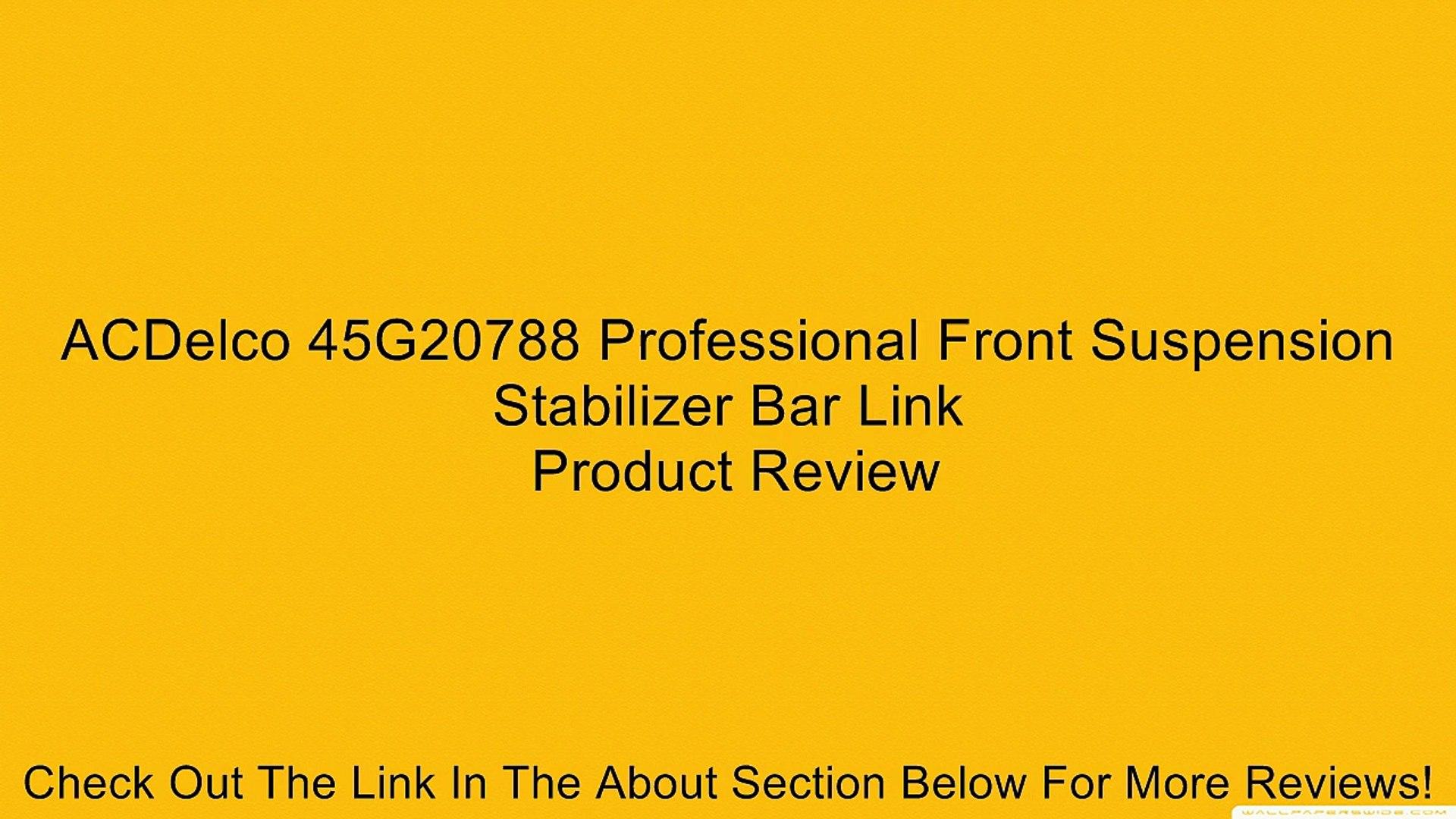 ACDelco 46B1099A Advantage Front Suspension Track Bar