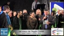 ST THIBERY - 2015 - Les VOEUX de l' AGGLO CAHM   2015 Cérémonie des voeux de l'agglomération : Les médaillés 2015