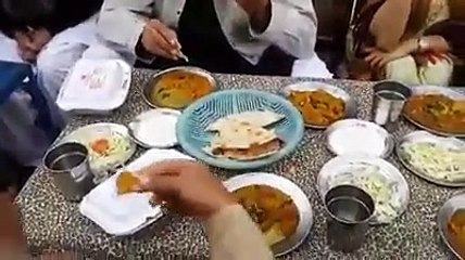 Asad Umar sitting in a public resturant without any security in a road side  11-january-2015