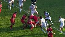 TOP14 - Toulon-Racing: Essai Matt Giteau (TLN) - J16 - Saison 2014/2015