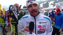 Jean-Baptiste Grange, 6ème du Slalom d'Adelboden - Vidéo FFS/EUROSPORT