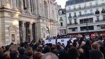 Le chant des partisans en fin de cortège Charlie à Angers