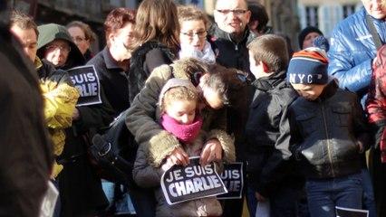 Je Suis Charlie - Moulins - Dimanche 11 Janvier 2015