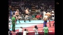 AJPW Stan Hansen & Ted DiBiase Vs. Jumbo Tsuruta & Tiger Mask (7/3/87) *PWF Tag Team Championship* 720p