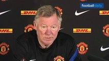 Manchester United v Everton - Sir Alex on David Moyes, Everton and Rooney