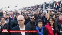 Marche républicaine : tour de France des manifestations