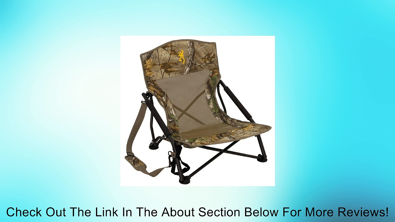 Browning Camping 8525014 Strutter Folding Chair Review