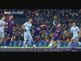 ملخص فوز برشلونة على أتلتيكو مدريد 3-1 + التصريحات 12-01-2015