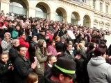 st etienne  42 2015 EV Hommage de St etienne .Libertés Egalités Fraternités
