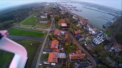800 Dolarlık Drone'u Kurtarmak İçin Göle Atladı