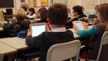 La tablette à l'école primaire : l'enseignant est plus disponible pour ses élèves