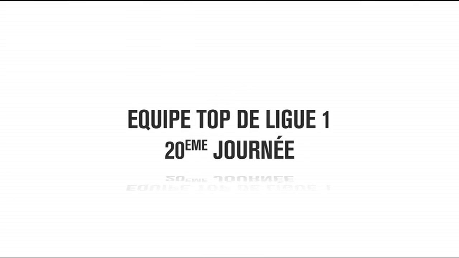 L'équipe TOP de la 20e journée de Ligue1