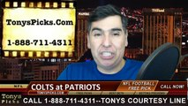 New England Patriots vs. Indianapolis Colts Free Pick Prediction AFC Championship Game NFL Pro Football Playoff Odds Preview 1-18-2015