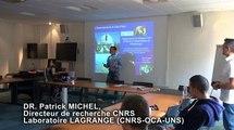 """""""La quête fascinante des petits corps du Système Solaire"""" par Patrick Michel, Directeur de recherche CNRS au Laboratoire Lagrange (CNRS-OCA-UNS) dans le 12:45 de la Délégation Côte d'Azur"""