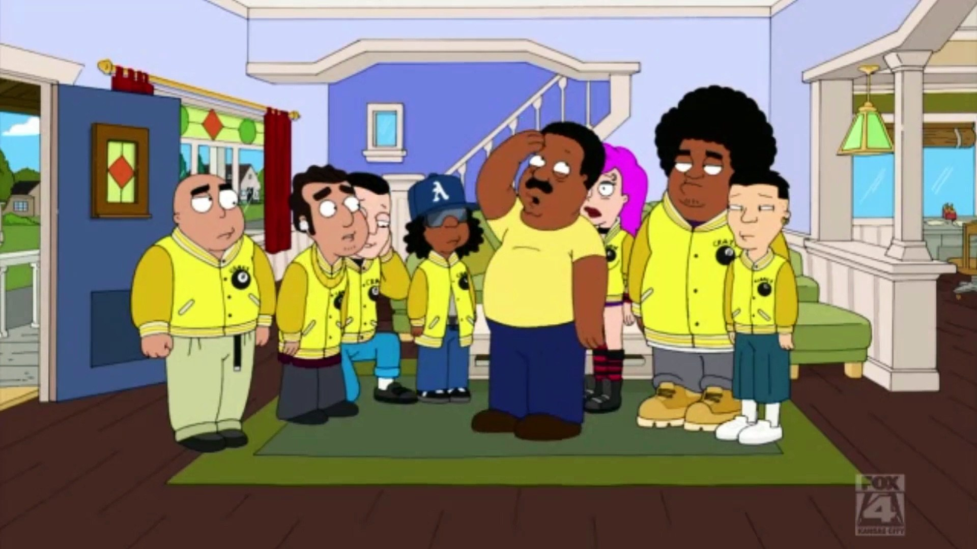 The Cleveland Show S01E12 Clip#7.
