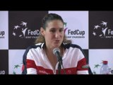 TENNIS - FED CUP - Razzano : «Très fière de moi»