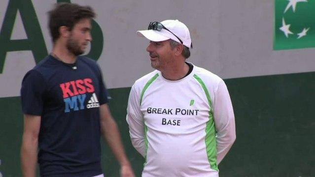 TENNIS - RG : Un gros calibre pour Gilles Simon