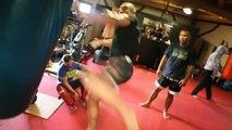 KICK-BOXING - Le Banner : Séance de CrossFit avec Jérôme Le Banner
