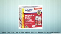 Equate Migraine Relief 200 Coated Caplets Compare to Excedrin Migraine Review