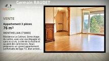 Vente appartement - MONTMELIAN (73800) - 76m²