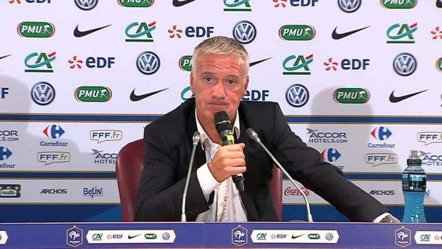 FOOT - C1 - Deschamps : «Le classement de la France est en danger»