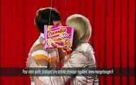 "Cadbury - bonbons Carambar - mai 2008 - ""Les annonces d'Elie Semoun"", ""Kevina et Julien, Bigou"""