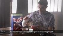 Céréales Crunch de Nestlé ; spot « Dance »,