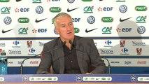 FOOT - BLEUS - Amical - Deschamps : «Josuha est très performant depuis le début de la saison»