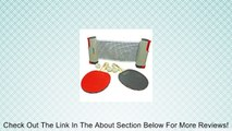 Anywhere Table Tennis Ping Pong Deluxe Set - Paddles, Balls and Net + Travel Bag Review