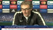 FOOT - C1 - PSG - Blanc : «L'Ajax est un club mythique»