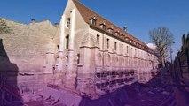 """Collège des Bernardins - monuments - septembre 2008 - """"Réhabilitation"""""""