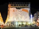 """Adidas - équipement sportif - juillet 2010 - """"Lancement du partenariat Adidas-Olympique Lyonnais"""", """"Adidas/OL: reveal du maillot away"""""""