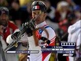 """CNOSF (Comité National Olympique et Sportif Français) - Jeux Olympiques de Vancouver - janvier 2010 - """"Biathlon"""", """"Les jeux, vivons-les"""""""