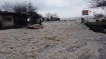 Antalya Kemer Fırtına ve Yağmur Yaşamı Felç Etti, Okullar Tatil Edildi -Ek 7