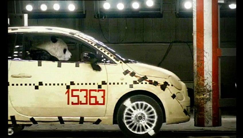 Fiat - voiture Fiat - 2009 - Crash Test Panda,...