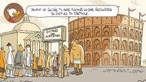 """La Poste - distribution du courrier - mai 2011 - """"Qu'est-ce qu'ils ont encore inventé à La Poste ?"""", """"Gladiateurs"""""""