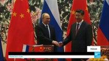 Avec les sanctions occidentales, Moscou et Pékin se rapprochent