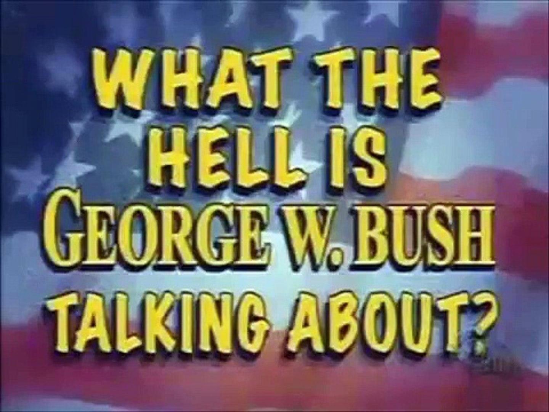 Stupid George Bush Hilarious Video Dailymotion
