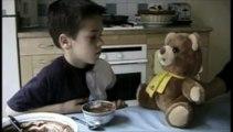 """Jemini - ours en peluche Grumly - octobre 1999 - """"blague à 2 balles"""""""