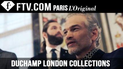Duchamp Fall/Winter 2015 | London Collectionss: Men | FashionTV