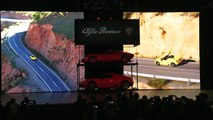 Highlights of the 2015 Alfa Reveal 4C Spider Introduction at 2015 NAIAS