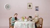"""La Chose pour Interflora - vente de fleurs à distance, """"Le pouvoir des fleurs Interflora"""" - février 2014 - fête des grands-mères"""