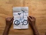 """Go Sport - équipement sportif, """"Collection Smart Edition"""" - juin 2009 - """"Vivons sport."""", www.smart-edition.com, le vélo pliant"""