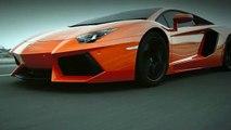 "Lamborghini - voiture Lamborghini Aventador, ""Triumph"" - mai 2011"