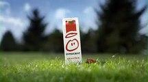 """Innocent - smoothie - juin 2009 - """"Innocent, les fruits tout nus"""", avec Alain le nain de jardin"""