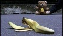 "Jemini - ours en peluche Grumly - octobre 1999 - ""banane"""