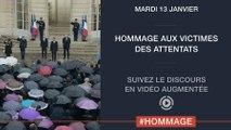 Hommage aux victimes des attentats - Discours de Manuel Valls, Premier ministre - Version augmentée