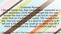 Taobaopit New 10 Pair Reusable Charming Cross Fake False Eyelashes Glue Adhesives Eye Lashes Makeup Black 57 Review