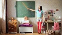 "Nett (Johnson & Johnson) - tampons hygiéniques, ""Back to school"" - août 2011"