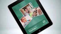 """Malakoff Médéric - prévoyance, retraite, épargne, santé, """"Mon espace client Malakoff Médéric sur iPad"""" - décembre 2011"""